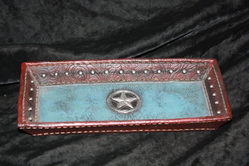 Blue Star Tray