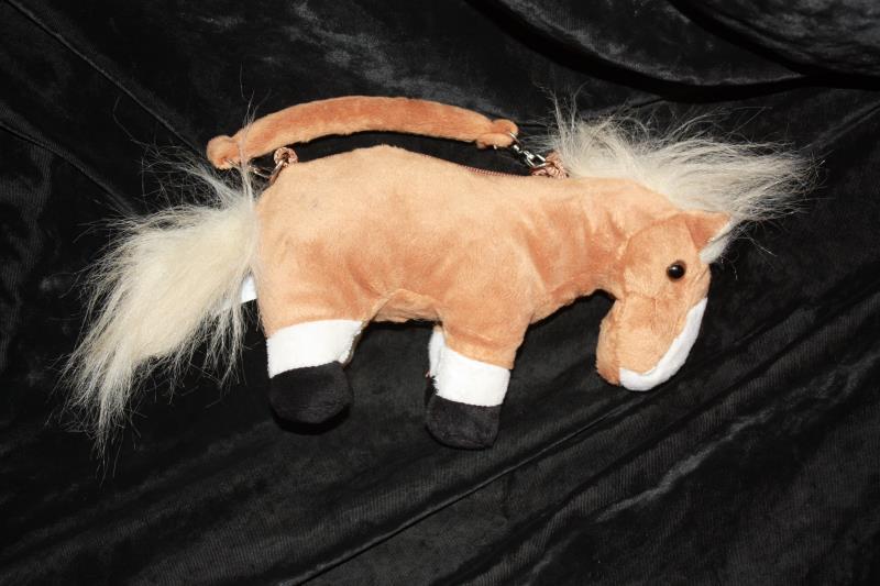 Plush Horse Handbags