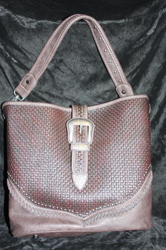 Trinity Ranch Buckle Handbag