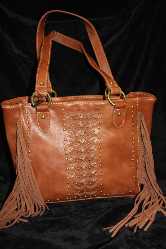 MW Handbag - Brown Laced