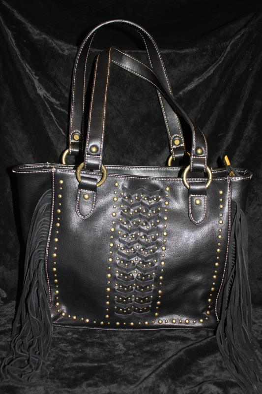 MW Handbag - Black Laced