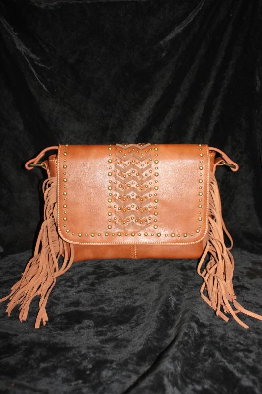 MW Crossbody - Laced Brown