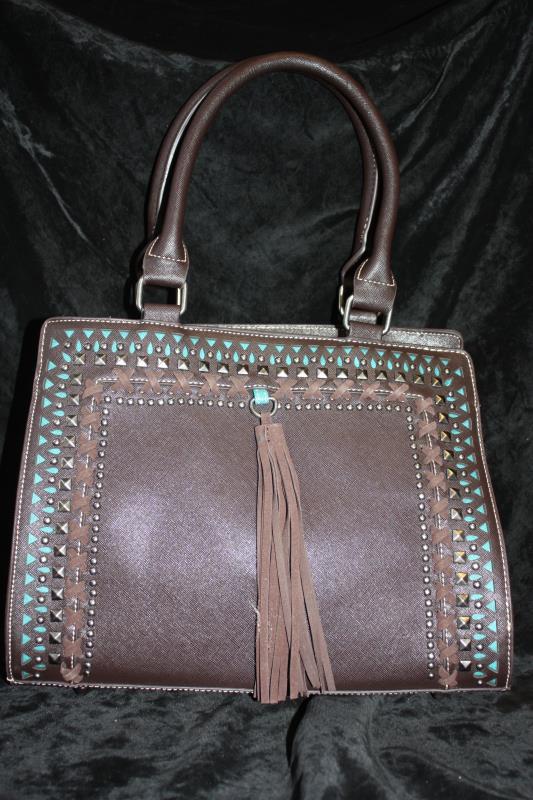 JJS Handbag with Tassel