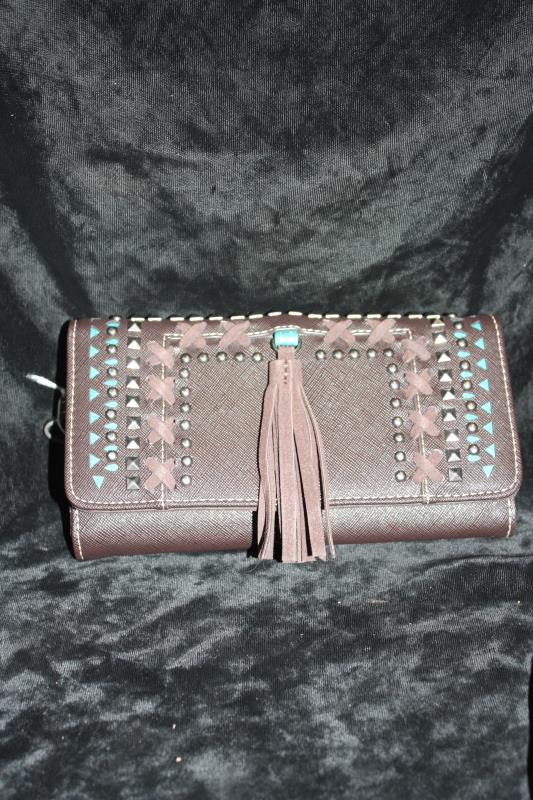 JJS Wallet with Tassel