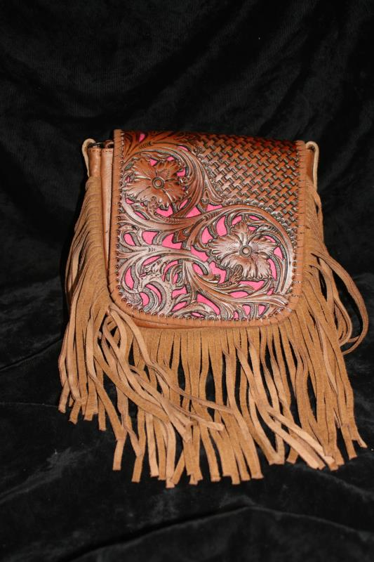 MW Crossbody - Tooled Phone Charger