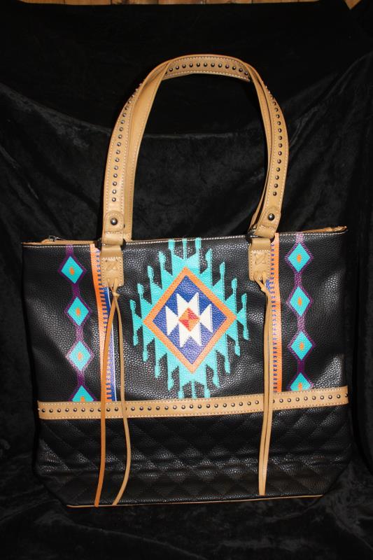 MW Aztec Tote - Black