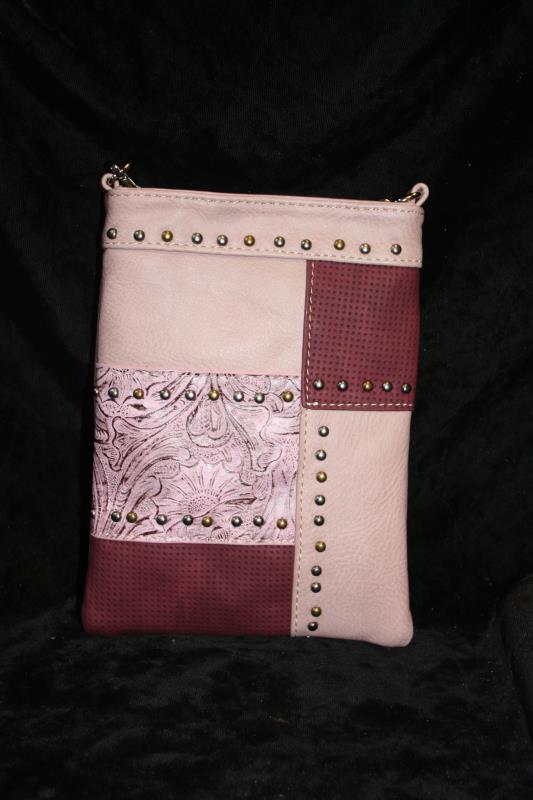 American Bling Crossbody -  Pink Patch