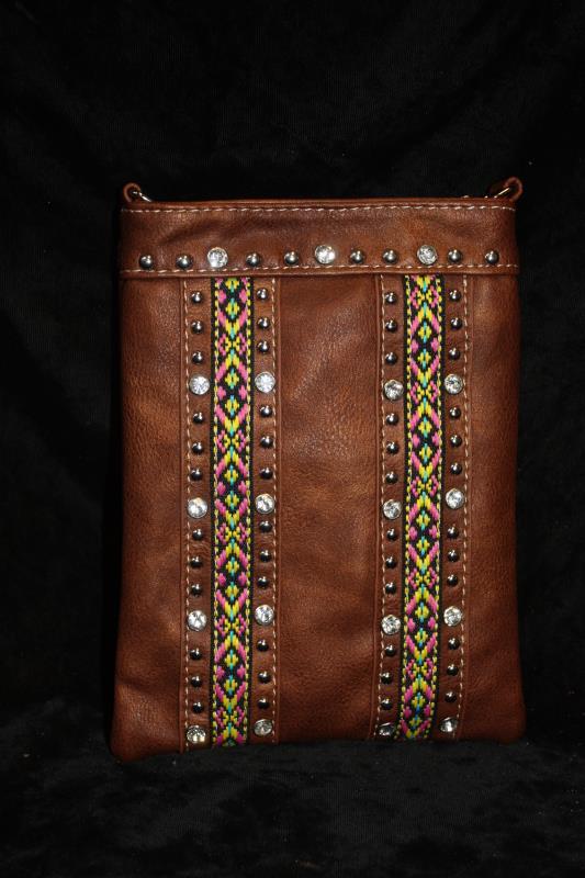 American Bling Crossbody -  Aztec Dots