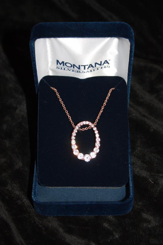 Montana Silversmiths - Oval Necklace