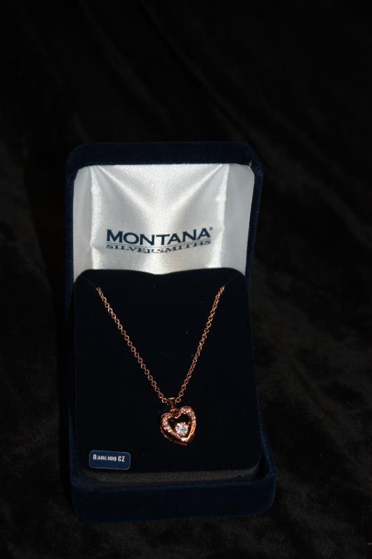 Montana Silversmiths - Necklace - Heart