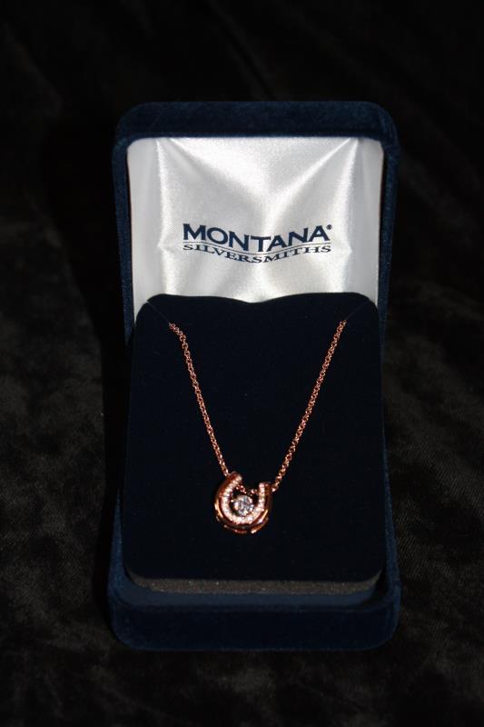 Montana Silversmiths - Necklace - Horseshoe