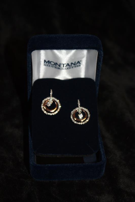Montana Silversmiths - Earrings - Circles