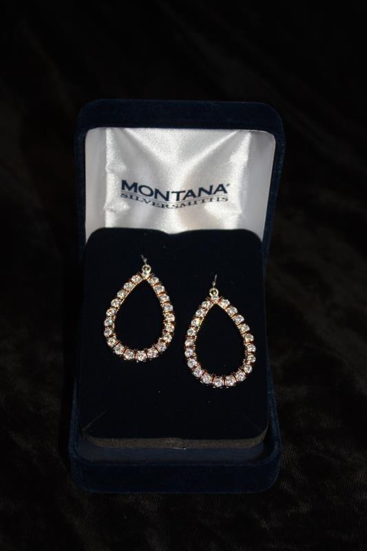 Montana Silversmiths - Earrings - Teardrop