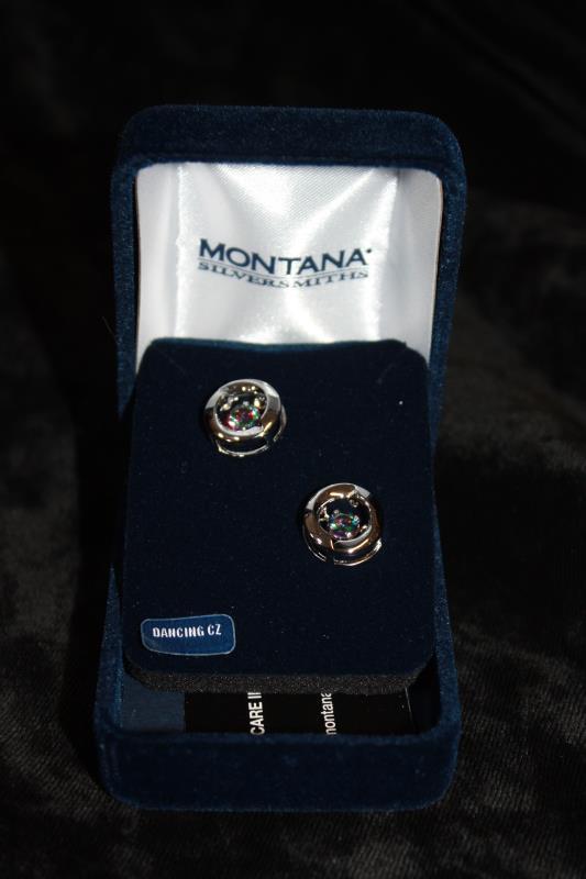 Montana Silversmiths - Earrings - Yin&Yang