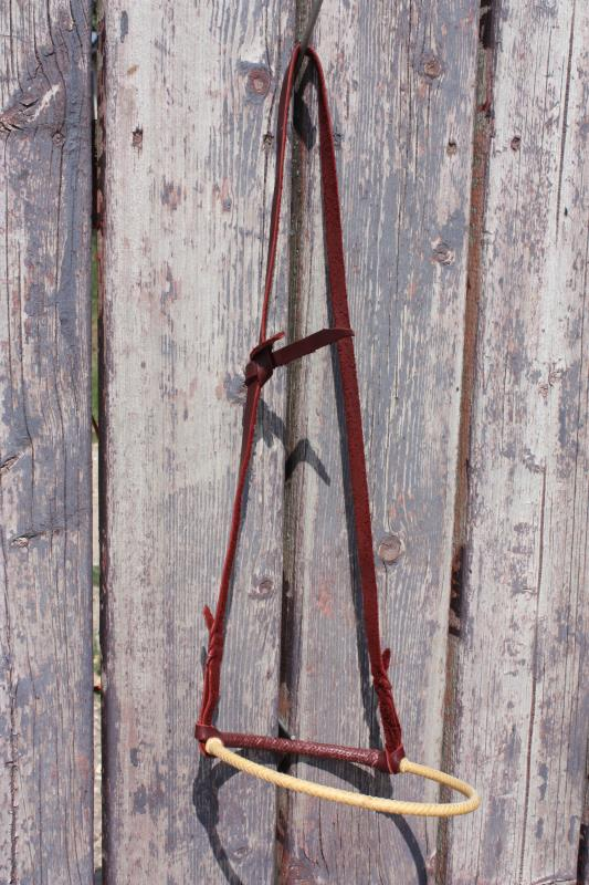 Caveson - Rawhide with Leather Hanger #1