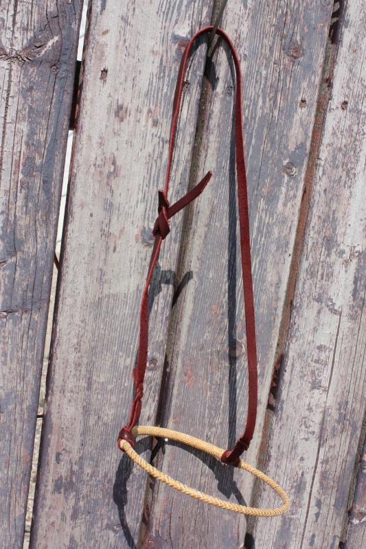 Caveson - Rawhide with Leather Hanger #2