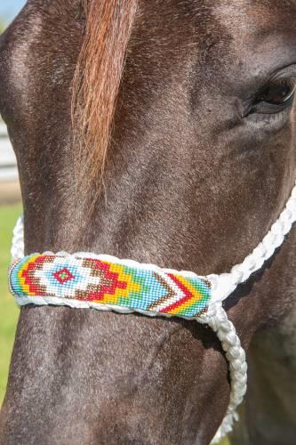 Professional's Choice Cowboy Braided Rope Halter