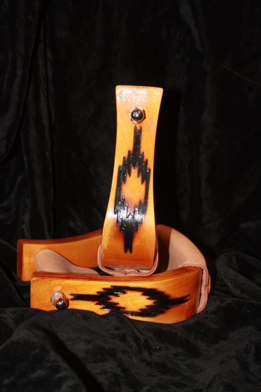 Circle G Wooden Stirrups