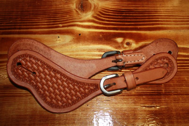 Oxbow Basketweave Spur Straps