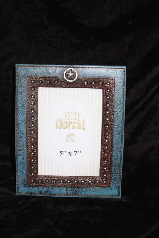 Star & Turquoise Picture Frame