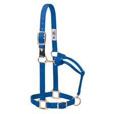 Weaver Xtended Life Closure System Adjustable Breakaway Nylon  Horse Halter, Average